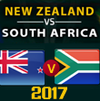 South Africa tour of New Zealand,2017
