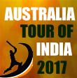 Australia tour of India,2017