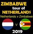 Zimbabwe tour of Netherlands 2019