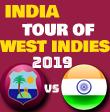 India tour of West Indies 2019