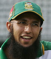 Hashim Amla was the Man of the Match