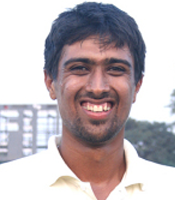 Rahul Sharma took three wickets