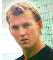 Brett Lee played a crucial role in a great opening spell