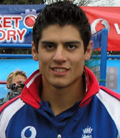 Alastair Cook scored 79