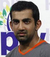 Gautam Gambhir got the Man of the Match
