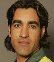 Umar Gul got the Man of the Match award