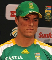 Marchant de Lange was the Man of the Match