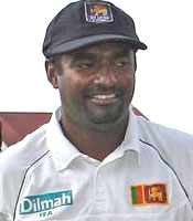 Muttiah Muralitharan went for just 16 runs in 4 overs besides taking 2 wickets