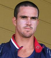 Kevin Pietersen blasted an unbeaten 43 from 26 balls