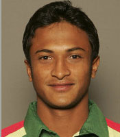 Shakib Al Hasan was the Man of the Match